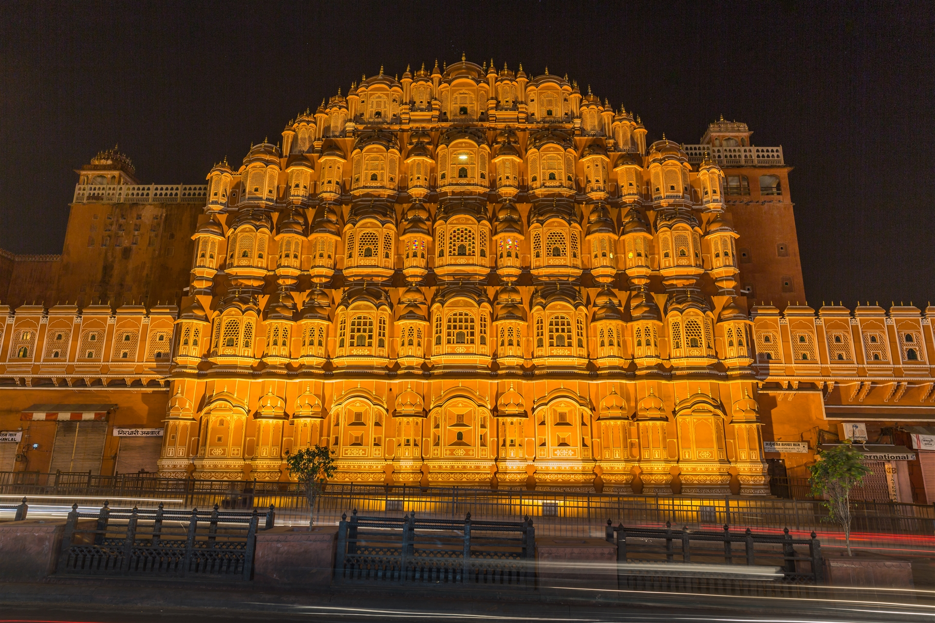 Front Elevation In Jaipur : Hawa mahal kevin standage