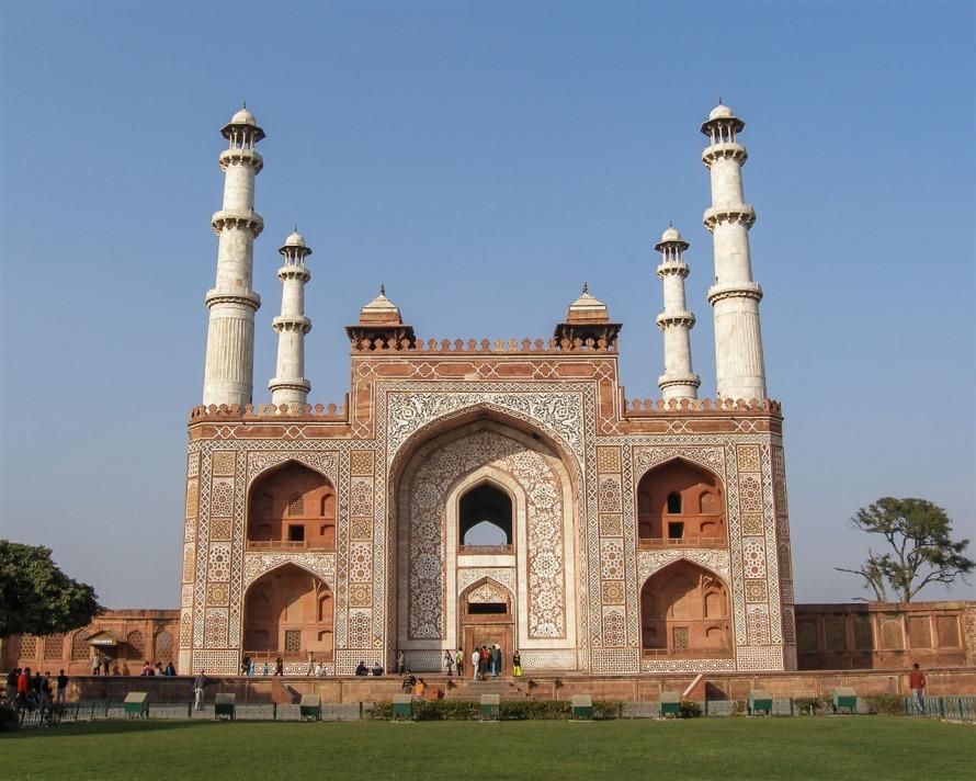 Tomb of Akbar The Great, Agra