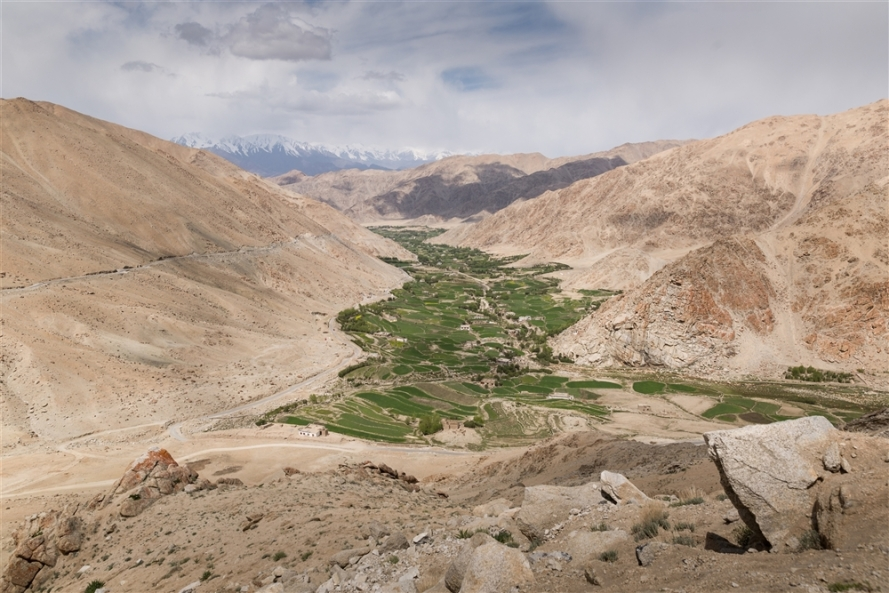 Chang La Pass to Pangong Tso