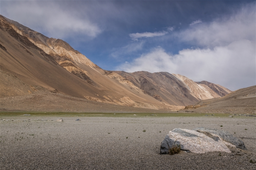 On route to Pangong Tso
