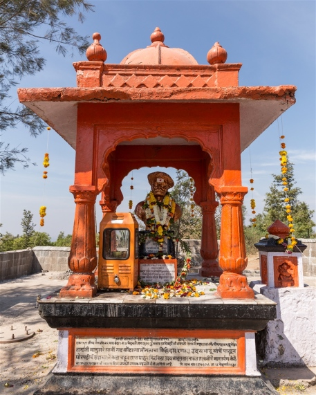 A memorial commemorating Tanaji Malusare