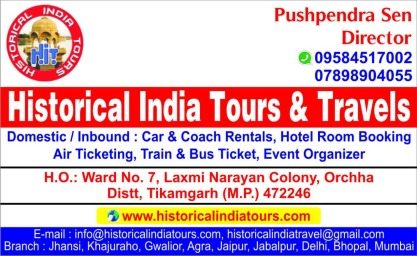 Historical India Tours and Travels