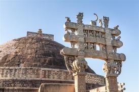 North Gateway and Stupa 1