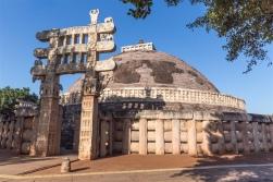 East Gateway - Sanchi Stupa 1