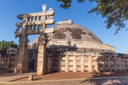 East Gateway - Sanchi Stupa 1