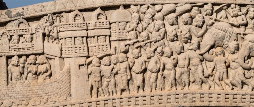 Siege of Kushinagar by the seven kings