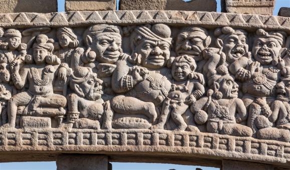 Temptation of Buddha - North Gateway