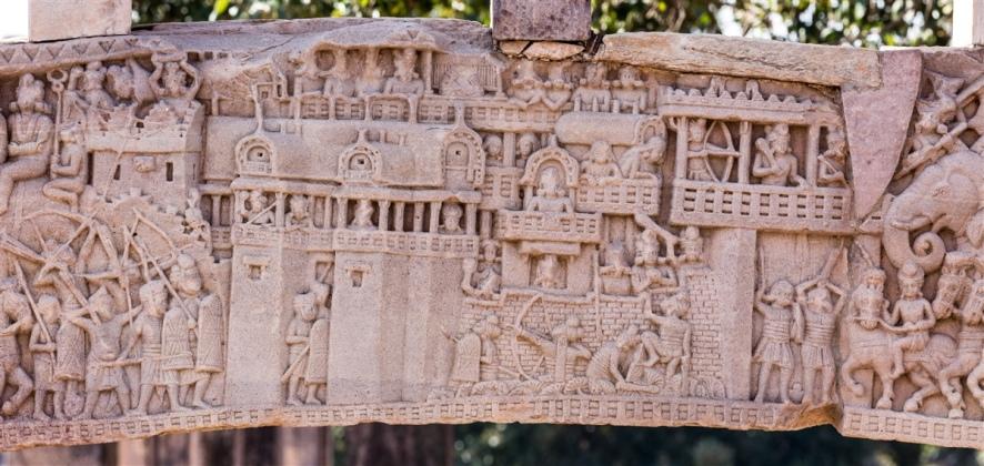 War over Buddha's relics