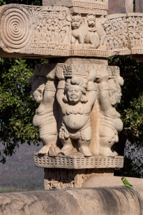 Yakshas (pot-bellied dwarfs)