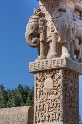 Elephant capitals - Noth Gateway