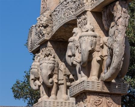 Elephant Capitals - East Gateway