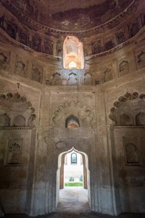 Interior of Chhatri