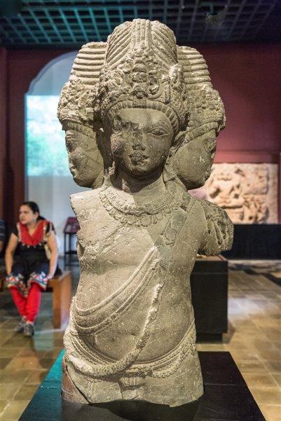 Brahma from Elephanta Caves. 6th century A.D.