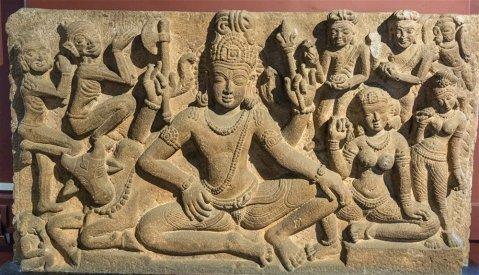 Uma Maheshvara from Aihole. 7th century A.D.