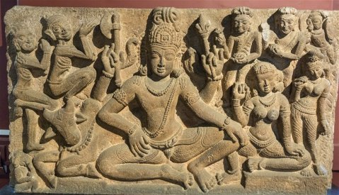 Uma Maheshvara from Aihole. 7th century A.D.