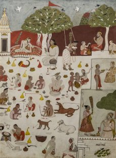 Raga Gandhara, Malwa. 1700 A.D.
