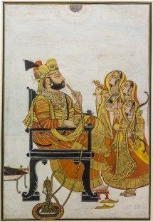 Portrait of Maharao Gokuldas, Deogarh. 1808 A.D.