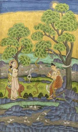 Ragini Jogia Asavari, Deccani. 1725 A.D.