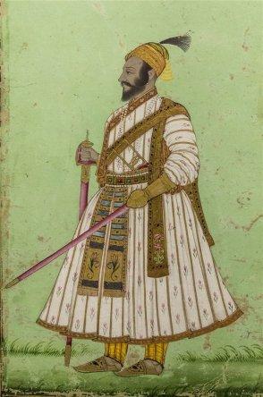 Chhatrapati Shivaji Maharaj, Deccani. Circa 1675 A.D.
