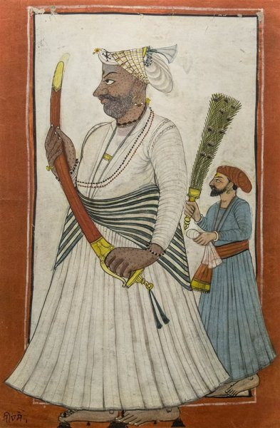 Raja Siva Sain, Pahari. Late 18th century A.D.