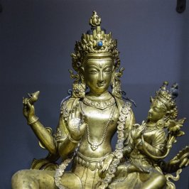 Lakshmi Narayana from Nepal. 19th century A.D.