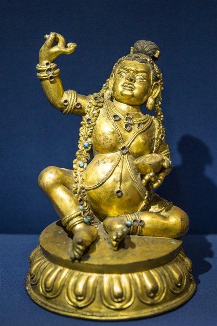 Mahasiddha Krishnapada from Tibet. 17th century A.D.