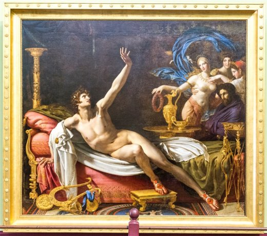 The Sword of Damocles by Antoine Dubost (1769 - 1825)