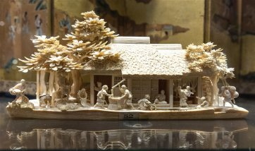 Japanese ivory carving. 18th - 19th century A.D.