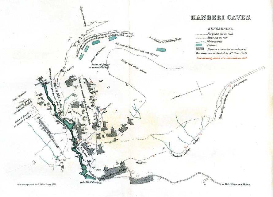 Kanheri Map