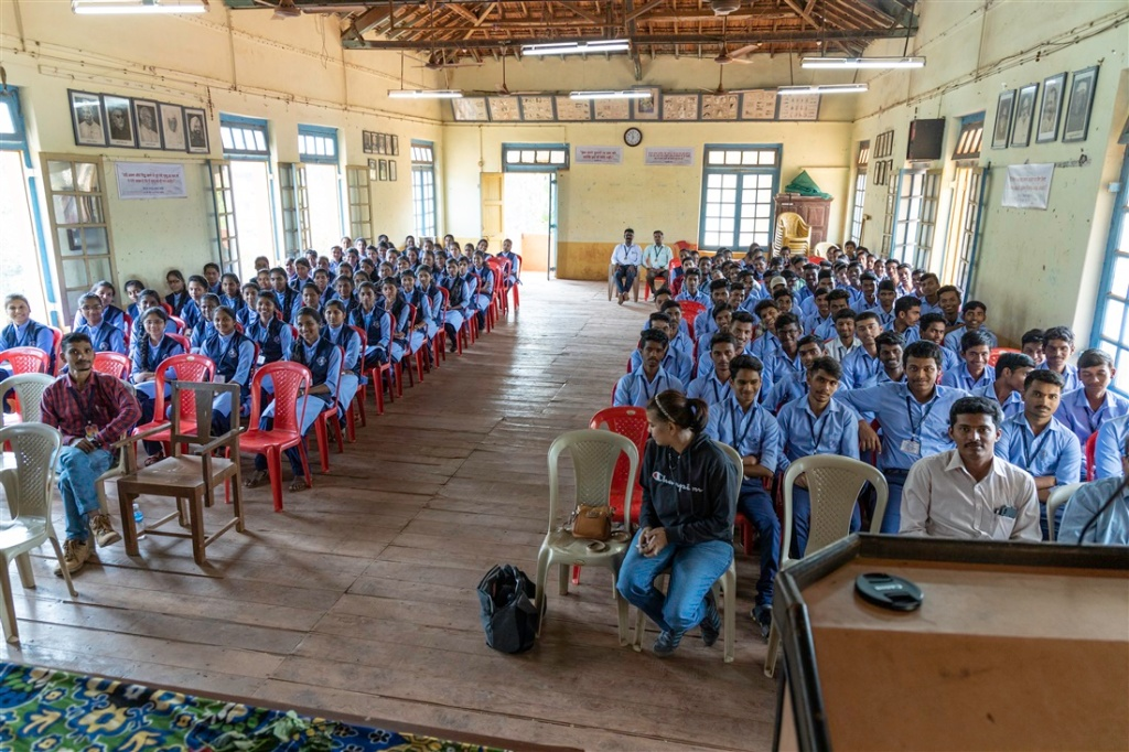 Petroglyph awareness day at Rajapur High School