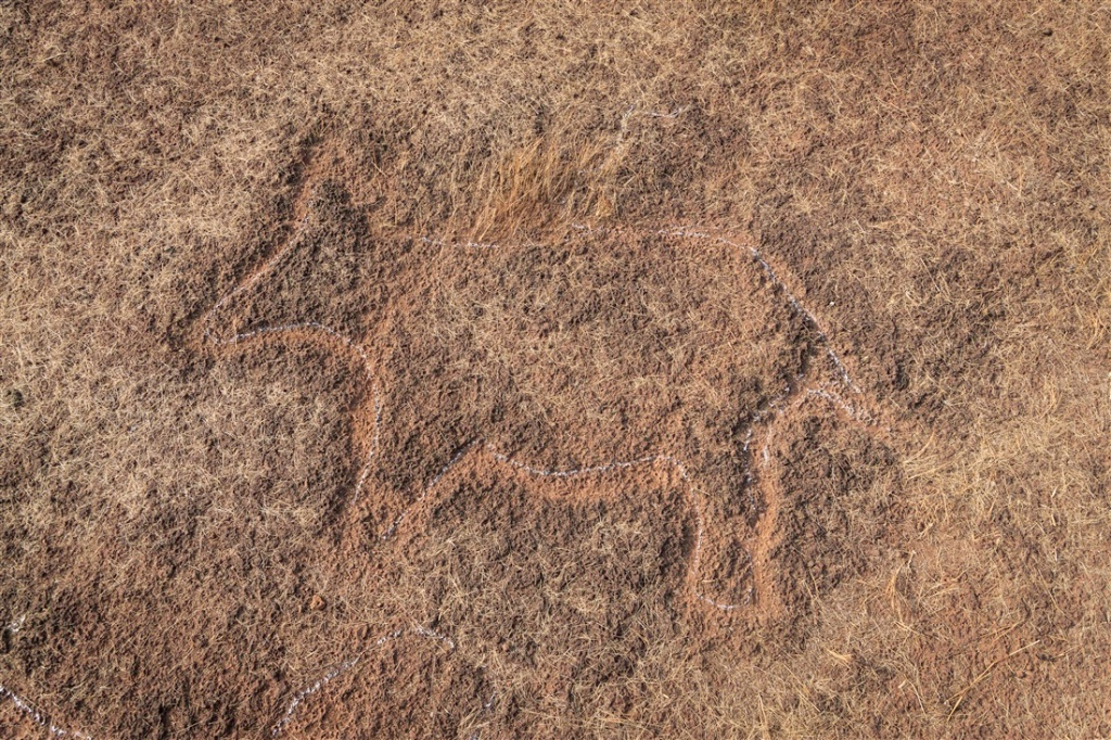 Chave Dewood petroglyph