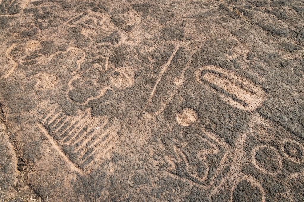 Ukshi petroglyphs