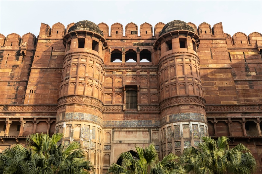 Image result for agra fort water supply