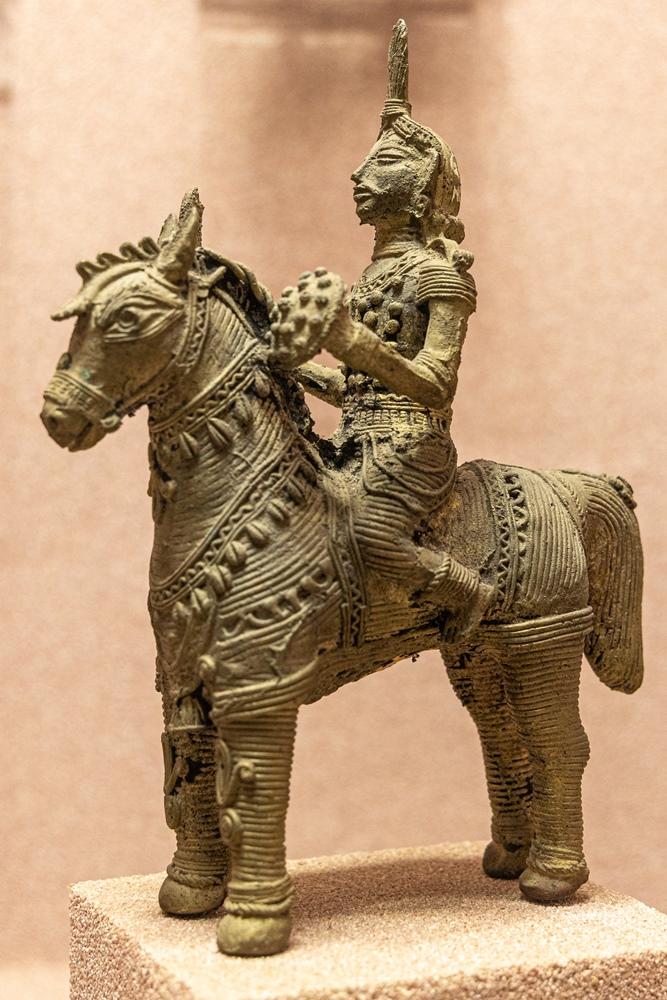 Dhokra Horse, Baripada, 19th century