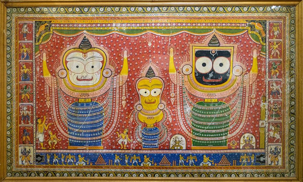 Bada Singara Vesha of Trinity