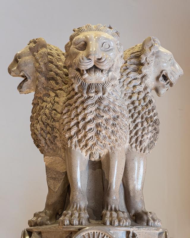 Lion Capital of Ashoka - Sarnath - circa 250 B.C