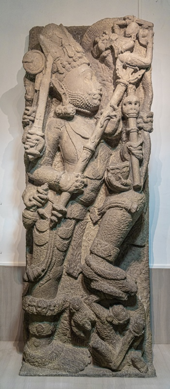 Lord Shiva killing the demon Andhaka - 12th Century A.D.