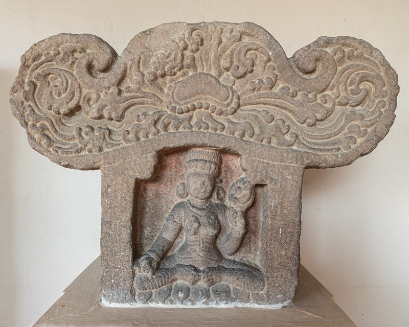 Pediment - 7th Century A.D.