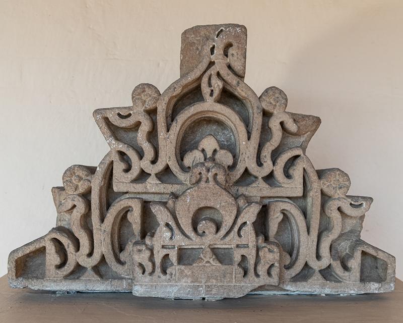 Pediment - 10th Century A.D.